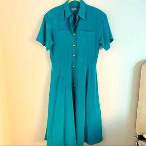 Vintage Liz Claiborne Dresses Button-Down Dress
